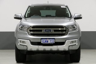 2017 Ford Everest UA MY18 Trend (4WD) Aluminium 6 Speed Automatic Wagon.