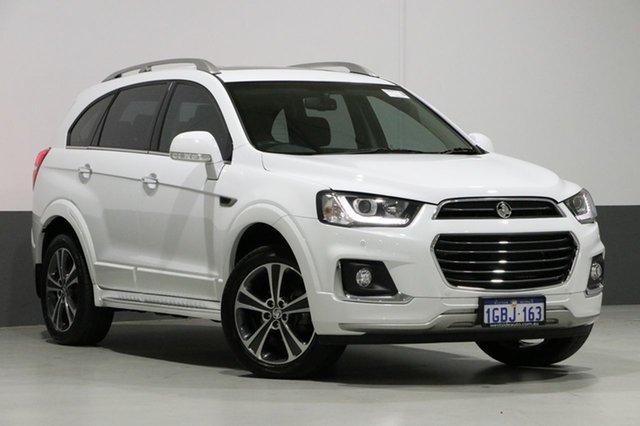 Used Holden Captiva CG MY16 7 LTZ (AWD), 2016 Holden Captiva CG MY16 7 LTZ (AWD) White 6 Speed Automatic Wagon