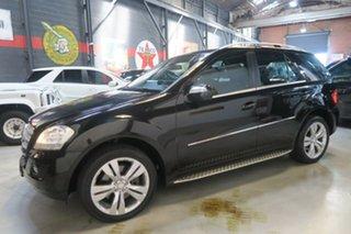 2008 Mercedes-Benz ML500 W164 MY09 Sports Luxury Black 7 Speed Sports Automatic Wagon