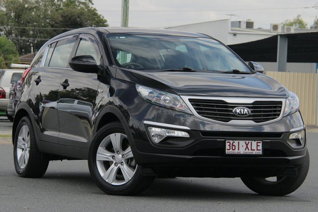 Used Kia Sportage SL Series II MY13 SI, 2013 Kia Sportage SL Series II MY13 SI Black 6 Speed Sports Automatic Wagon