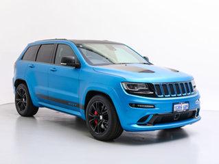 2016 Jeep Grand Cherokee WK MY15 SRT 8 (4x4) Blue 8 Speed Automatic Wagon.
