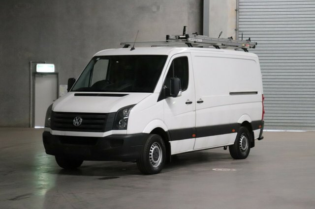 Used Volkswagen Crafter 2ED1 MY15 35 MWB TDI300 Runner, 2015 Volkswagen Crafter 2ED1 MY15 35 MWB TDI300 Runner White 6 Speed Manual Van