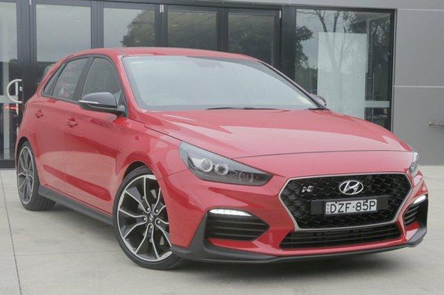 Demo Hyundai i30 PDe MY18 N Performance, 2018 Hyundai i30 PDe MY18 N Performance Engine Red 6 Speed Manual Hatchback