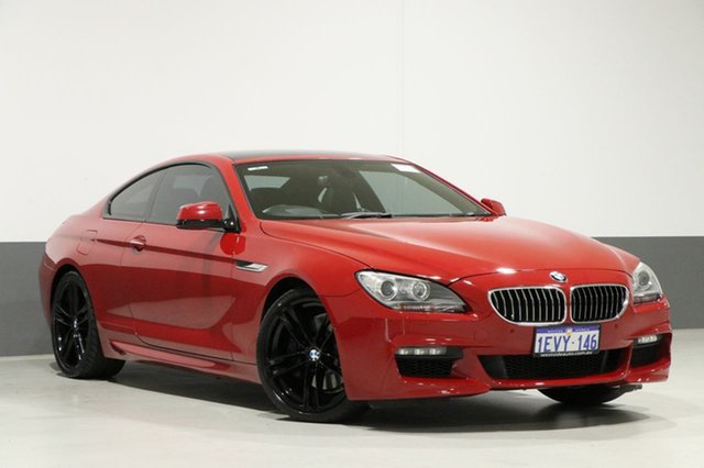Used BMW 640i F13 , 2012 BMW 640i F13 Red 8 Speed Automatic Coupe
