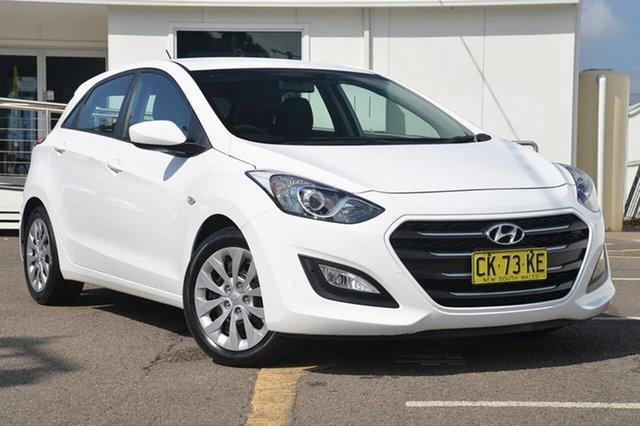 Used Hyundai i30 GD4 Series II MY17 Active, 2016 Hyundai i30 GD4 Series II MY17 Active White 6 Speed Sports Automatic Hatchback