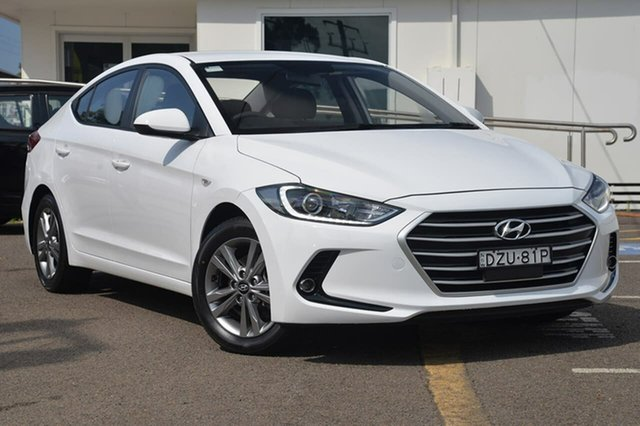Used Hyundai Elantra AD MY17 Active, 2016 Hyundai Elantra AD MY17 Active White 6 Speed Sports Automatic Sedan