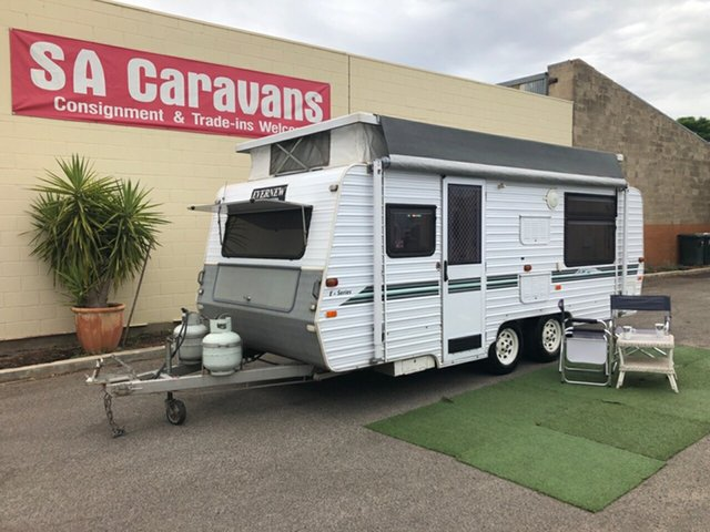 Used Evernew   , 2002 Evernew E SERIES 18 with AIR CONDITIONING Pop Top