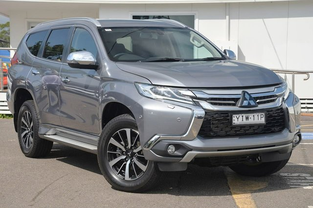 Used Mitsubishi Pajero Sport QE MY16 Exceed, 2016 Mitsubishi Pajero Sport QE MY16 Exceed Grey 8 Speed Sports Automatic Wagon