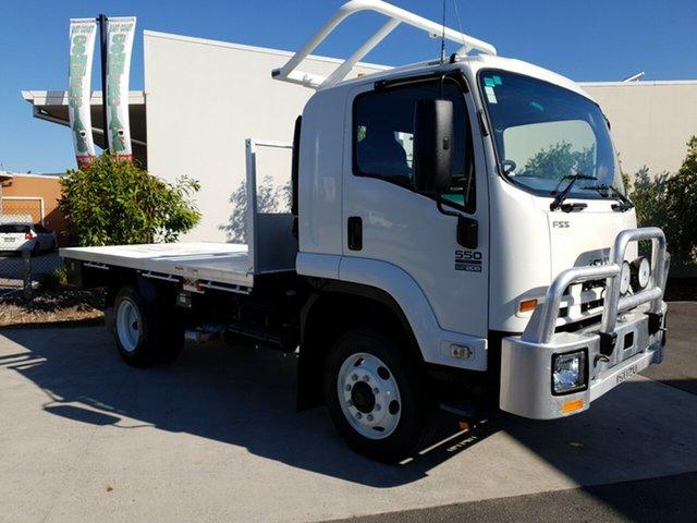 Used Isuzu FSS 550 FH , 2013 Isuzu FSS 550 FH White Traytop 5.2l 4WD