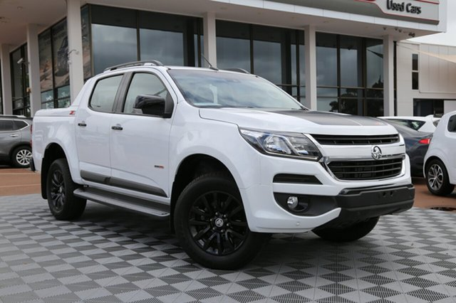 Used Holden Colorado RG MY18 Z71 Pickup Crew Cab, 2018 Holden Colorado RG MY18 Z71 Pickup Crew Cab White 6 Speed Sports Automatic Utility