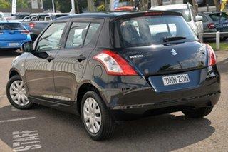 2011 Suzuki Swift FZ GA Black 5 Speed Manual Hatchback.