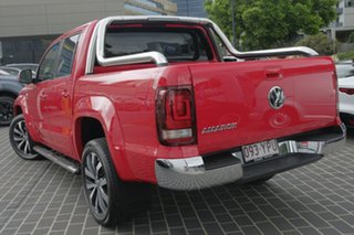 2018 Volkswagen Amarok 2H MY18 TDI550 4MOTION Perm Ultimate Tornado Red 8 Speed Automatic Utility.