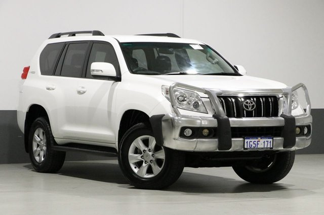 Used Toyota Landcruiser Prado KDJ150R 11 Upgrade GXL (4x4), 2012 Toyota Landcruiser Prado KDJ150R 11 Upgrade GXL (4x4) White 5 Speed Sequential Auto Wagon