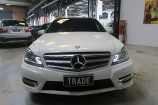 2013 Mercedes-Benz C250 W204 MY13 Avantgarde Estate 7G-Tronic + White 7 Speed Sports Automatic Wagon
