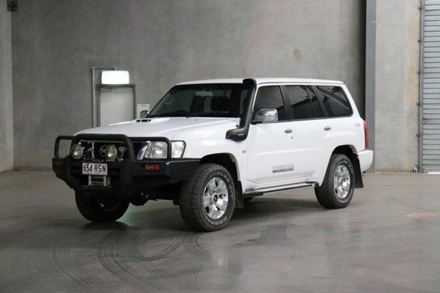 Used Nissan Patrol GU 7 MY10 ST, 2011 Nissan Patrol GU 7 MY10 ST White 4 Speed Automatic Wagon