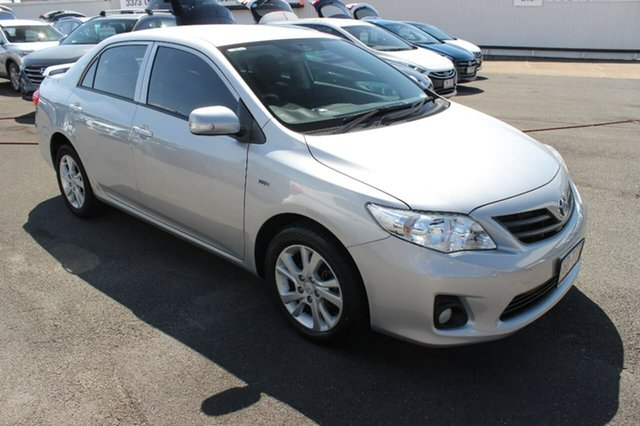 Used Toyota Corolla ZRE152R Ascent Sport, 2013 Toyota Corolla ZRE152R Ascent Sport Silver 4 Speed Automatic Sedan