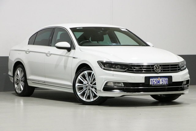 Used Volkswagen Passat 3C MY17 206 TSI R-Line, 2016 Volkswagen Passat 3C MY17 206 TSI R-Line White 6 Speed Direct Shift Sedan