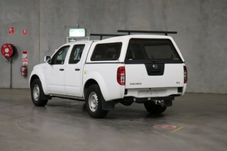2012 Nissan Navara D40 S6 MY12 RX 4x2 White 5 Speed Automatic Utility