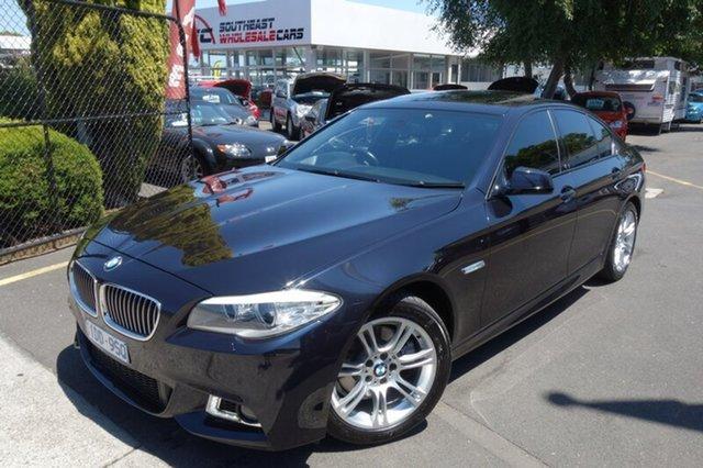 Used BMW 520d F10 MY0911 Steptronic, 2011 BMW 520d F10 MY0911 Steptronic Blue 8 Speed Sports Automatic Sedan
