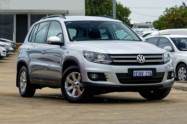 Used Volkswagen Tiguan 5N MY13.5 132TSI DSG 4MOTION Pacific, 2013 Volkswagen Tiguan 5N MY13.5 132TSI DSG 4MOTION Pacific Silver 7 Speed