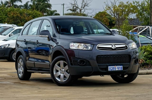 Used Holden Captiva CG MY13 7 SX, 2013 Holden Captiva CG MY13 7 SX Grey 6 Speed Sports Automatic Wagon