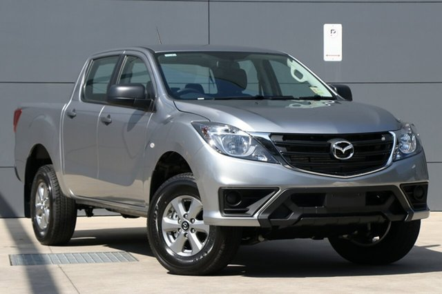 New Mazda BT-50 UR0YG1 XT, 2018 Mazda BT-50 UR0YG1 XT Aluminium 6 Speed Sports Automatic Utility
