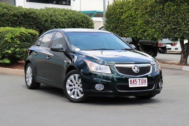 Used Holden Cruze JH Series II MY14 CDX, 2014 Holden Cruze JH Series II MY14 CDX Green 6 Speed Sports Automatic Sedan