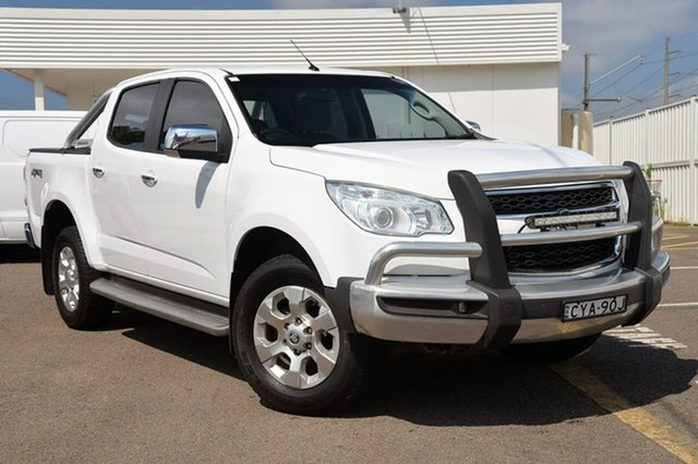 Used Holden Colorado RG MY15 LTZ Crew Cab, 2015 Holden Colorado RG MY15 LTZ Crew Cab White 6 Speed Manual Utility