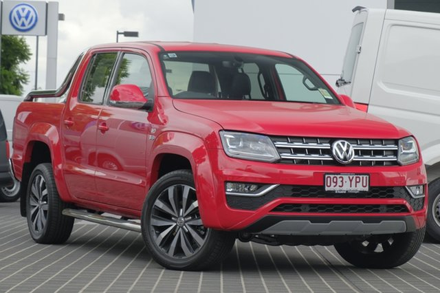 Demo Volkswagen Amarok 2H MY18 TDI550 4MOTION Perm Ultimate, 2018 Volkswagen Amarok 2H MY18 TDI550 4MOTION Perm Ultimate Tornado Red 8 Speed Automatic Utility