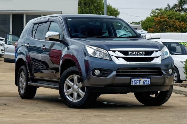 Used Isuzu MU-X MY16.5 LS-U Rev-Tronic, 2017 Isuzu MU-X MY16.5 LS-U Rev-Tronic Grey 6 Speed Sports Automatic Wagon