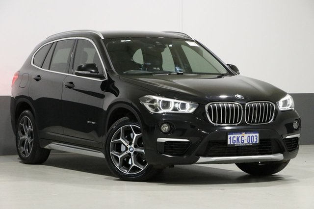 Used BMW X1 F48 sDrive 20I, 2016 BMW X1 F48 sDrive 20I Black 8 Speed Automatic Wagon