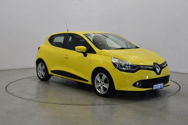 Used Renault Clio IV B98 Expression EDC, 2014 Renault Clio IV B98 Expression EDC Yellow 6 Speed Sports Automatic Dual Clutch Hatchback