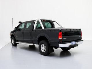 2005 Ford F250 RN XLT (4x4) Black 4 Speed Automatic Crew Cab Pickup