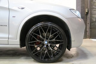 2015 BMW X4 F26 xDrive20i Coupe Steptronic Silver 8 Speed Automatic Wagon
