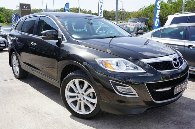 Used Mazda CX-9 TB10A1 Luxury, 2009 Mazda CX-9 TB10A1 Luxury Black 6 Speed Sports Automatic Wagon