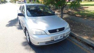 2005 Holden Astra TS MY05 Classic Silver 5 Speed Manual Sedan.