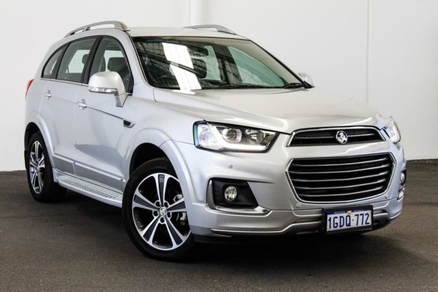 Used Holden Captiva CG MY15 7 LTZ (AWD), 2016 Holden Captiva CG MY15 7 LTZ (AWD) Silver 6 Speed Automatic Wagon