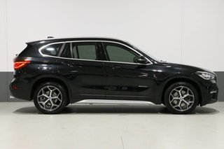 2016 BMW X1 F48 sDrive 20I Black 8 Speed Automatic Wagon