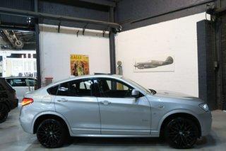 2015 BMW X4 F26 xDrive20i Coupe Steptronic Silver 8 Speed Automatic Wagon.