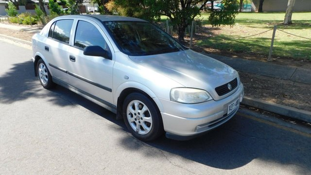 Used Holden Astra TS MY05 Classic, 2005 Holden Astra TS MY05 Classic Silver 5 Speed Manual Sedan