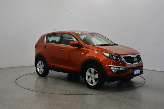 Used Kia Sportage SL Series II MY13 SI, 2013 Kia Sportage SL Series II MY13 SI Orange 6 Speed Sports Automatic Wagon