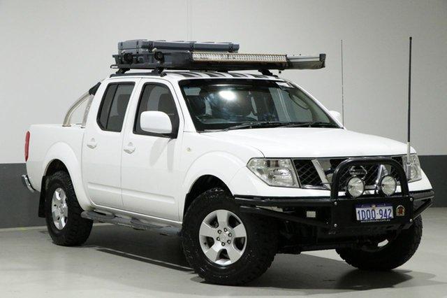 Used Nissan Navara D40 ST (4x4), 2011 Nissan Navara D40 ST (4x4) White 6 Speed Manual Dual Cab Pick-up