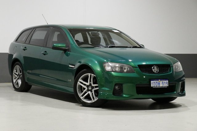 Used Holden Commodore VE II SS, 2010 Holden Commodore VE II SS Green 6 Speed Manual Sportswagon