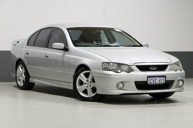 Used Ford Falcon BA XR6T, 2004 Ford Falcon BA XR6T Silver 4 Speed Auto Seq Sportshift Sedan