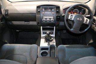 2012 Nissan Navara D40 MY12 ST (4x4) White 6 Speed Manual Dual Cab Pick-up