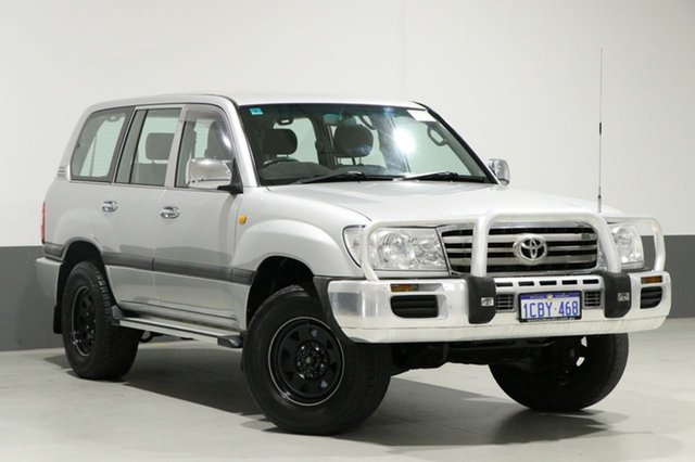 Used Toyota Landcruiser UZJ100R Upgrade GXL (4x4), 2005 Toyota Landcruiser UZJ100R Upgrade GXL (4x4) Silver 5 Speed Automatic Wagon