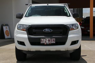 2015 Ford Ranger PX XL 4x2 Hi-Rider White 6 Speed Sports Automatic Cab Chassis
