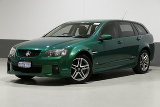 2010 Holden Commodore VE II SS Green 6 Speed Manual Sportswagon.