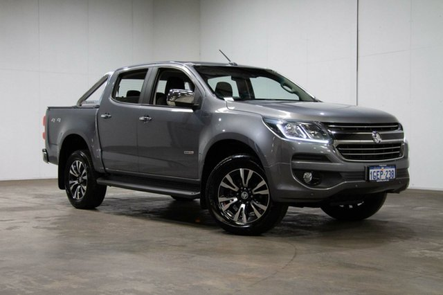 Used Holden Colorado RG MY17 LTZ Pickup Crew Cab, 2017 Holden Colorado RG MY17 LTZ Pickup Crew Cab Silver 6 Speed Manual Utility