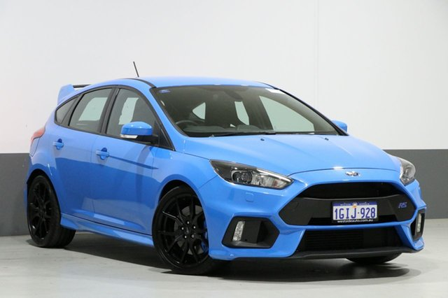 Used Ford Focus LZ RS, 2017 Ford Focus LZ RS Nitro 6 Speed Manual Hatchback